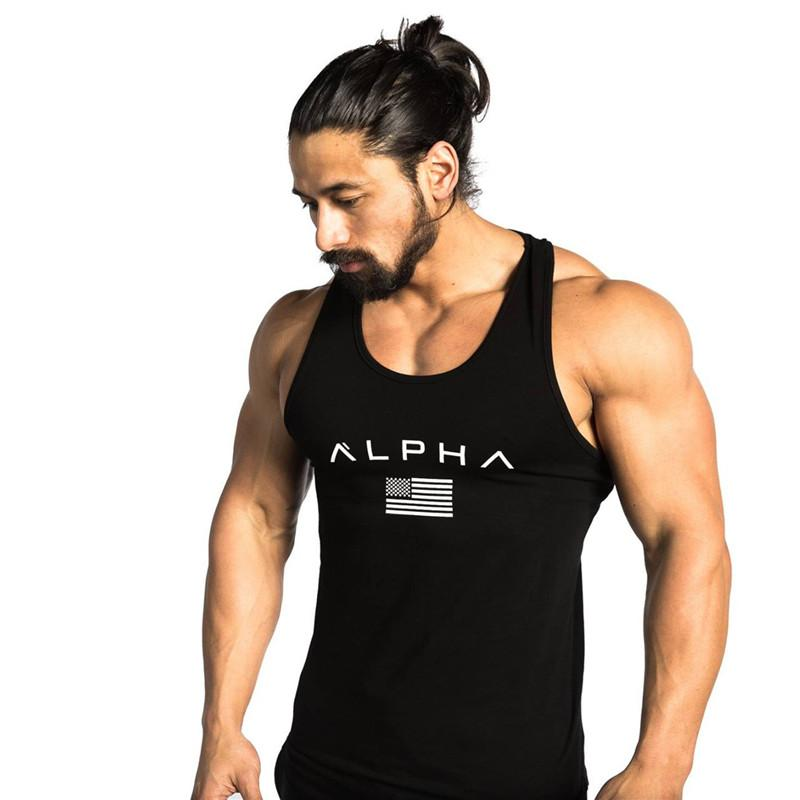 bffc619ccb8 Men Summer Gyms Fitness Bodybuilding Hooded Tank Top Fashion Mens Crossfit  Clothing Loose Breathable Sleeveless Shirts Vest UK 2019 From Xinlangcom