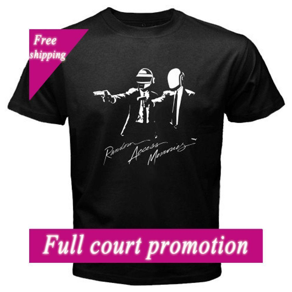 8093628db Nieuwe Daft Punk Tshirt Willekeurige Toegang Herinneringen Electro Muziek  Mannen Vrouwen Camisetas Punk Rock Band Ontwerp Print Mannen Cloth This T  Shirt T ...