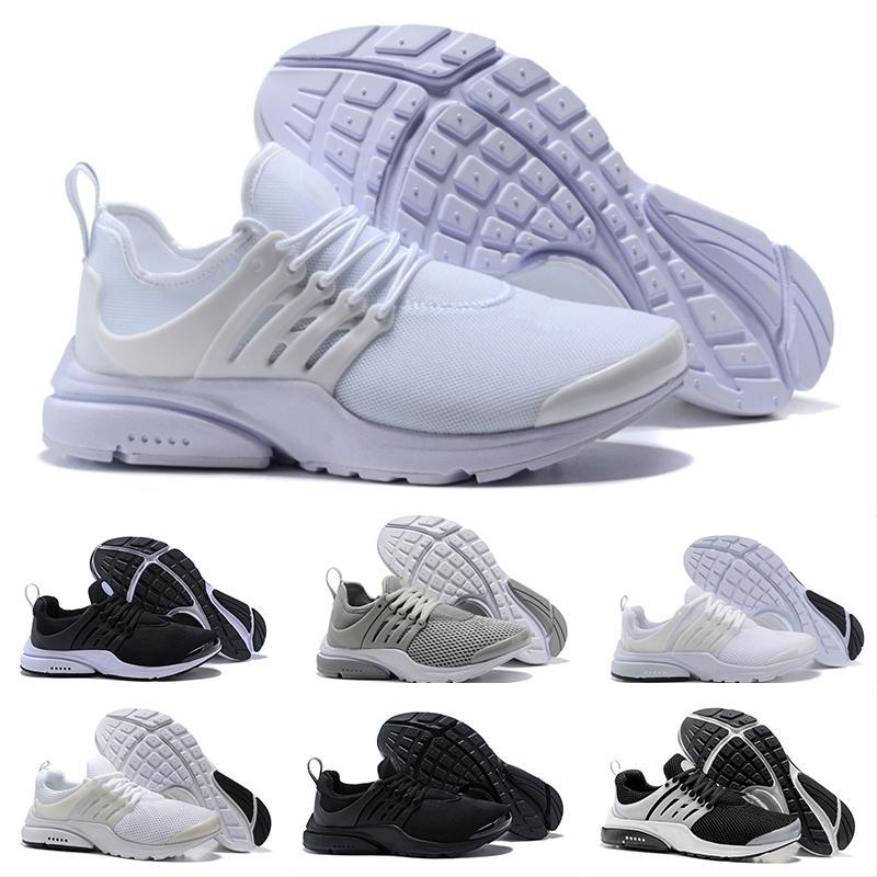 new style 0f011 8f9d9 Acheter Nike Air Presto Ultra Low Designer Shoes Trainers PRESTO BR QS  Triple Noir Blanc Jaune Rouge Hommes Femmes Chaussures De Course Designer  De Marche ...