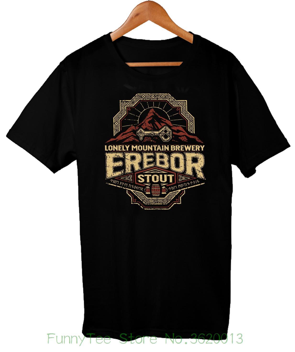 c9fb4abcf0167b Großhandel Herr Der Ringe Erebor Stout Trinken T Shirt Men '; S Komödie T  Shirt Von Aaa888teesstore, $22.68 Auf De.Dhgate.Com | Dhgate