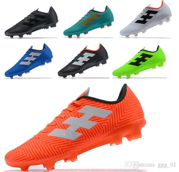 release date: 261f5 c4244 Großhandel Mens Mercurial Nemeziz Messi Tango 18.4 FG Fußball Schuhe Hohe  Qualität Chaussures Fußballschuhe Günstigstes Fußballschuh Von Ggg 01, ...