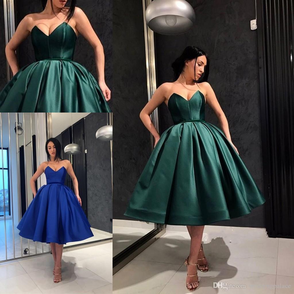Imagenes de vestidos elegantes cortos 2019