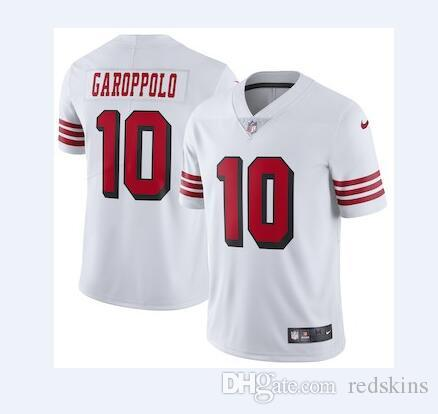 the best attitude 674e2 76761 2019 10 Jimmy Garoppolo Jersey Richard Sherman Marquise Goodwin 49ers  Scarlet Red Black Team Color football jersey Athletic Outdoor Apparel