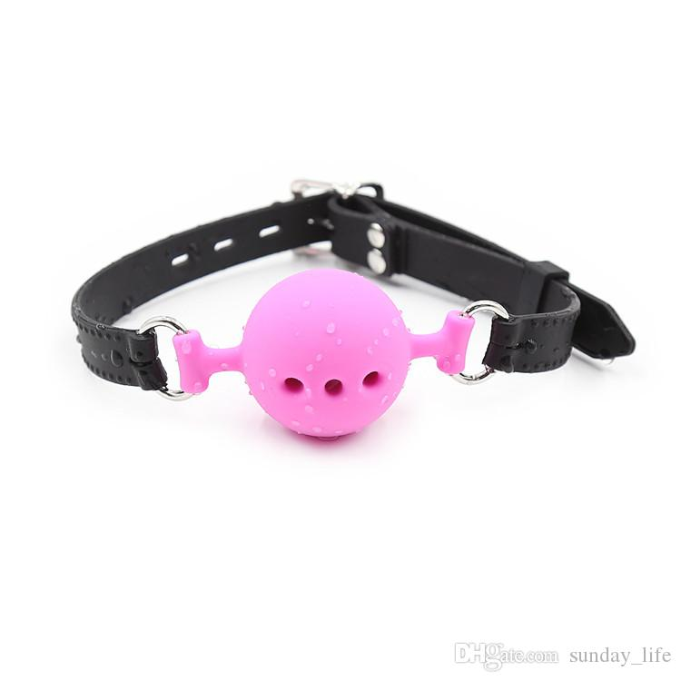 !!!3 size Silicone Open Mouth Ball Gag in Adult Game Bondage Restraints Sex Products BDSM Erotic Toy Couple Sex Toys
