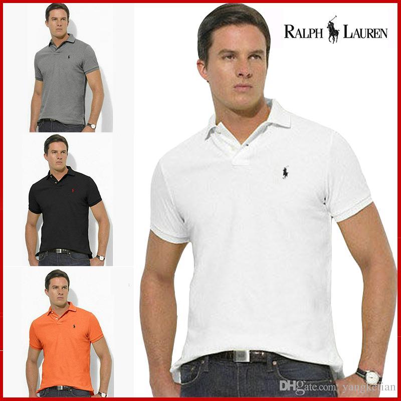 4c21962ef200 Short Sleeved T Shirt Men 2018 Summer New Loose Cotton Polo Shirts ...