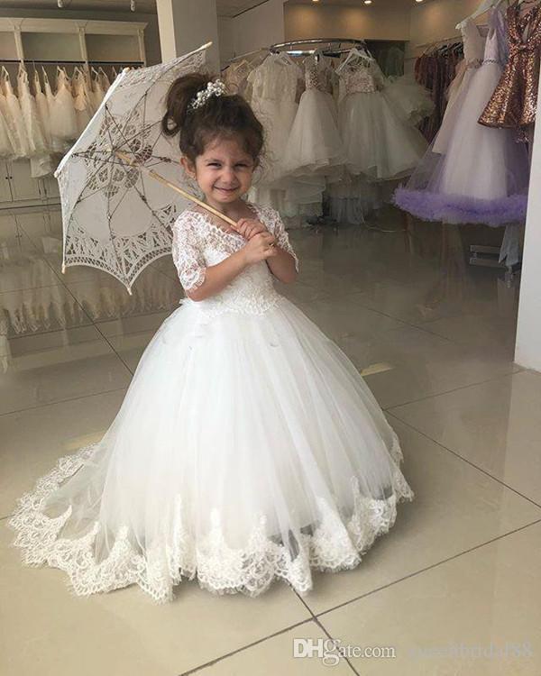Robe De Mariee De Petite Fille