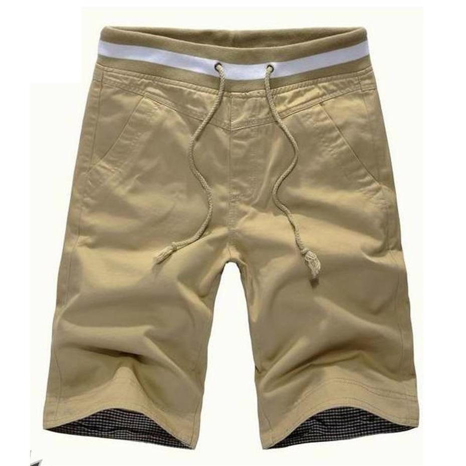 5cc2b07acd51e Compre Vogue Brand New Pure Color Shorts De Moda Para Hombre Pop Summer  Explosion Modelo Para Hombre Ocio Short Lace Casual Shorts De Playa A   50.76 Del ...