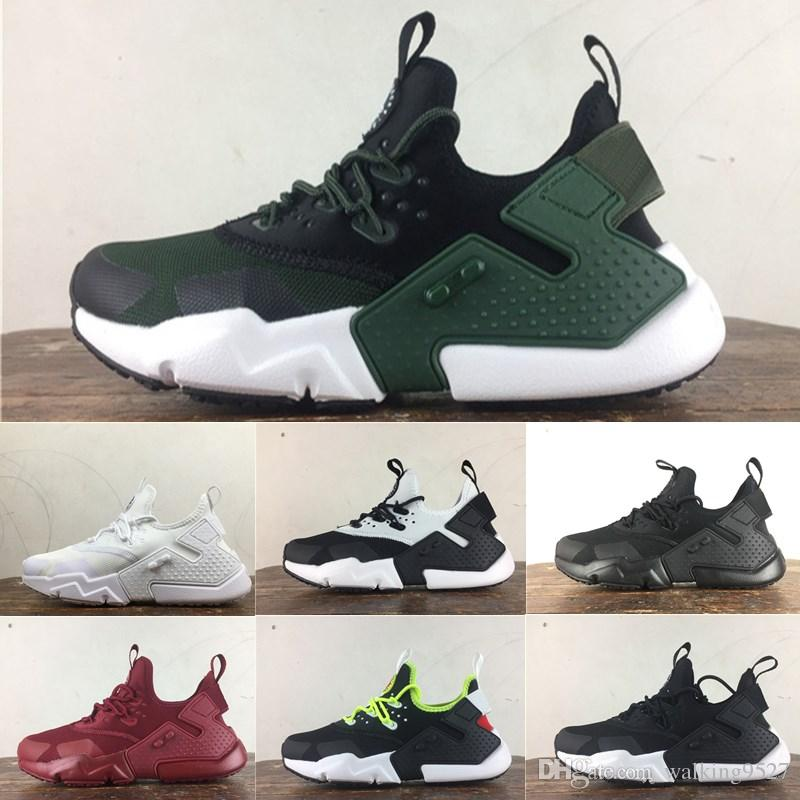 0588ba913157dc 2018 New Air Huarache 6 Acronym City MID Leather High Top Huaraches Mens  Trainers Running Shoes Men Huraches Presto Sneakers Hurache 36-45 Designer  Shoes ...