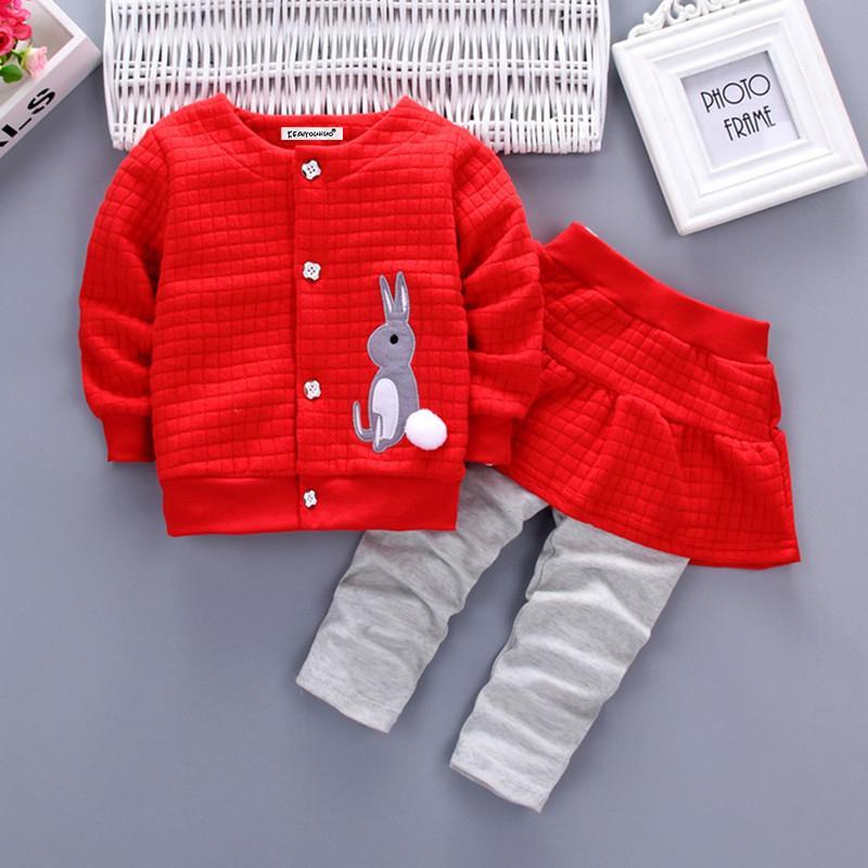 Garotas de bebê conjunto de roupas 2018 nova moda crianças meninas roupas camisa + calças meninos esporte terno crianças conjuntos