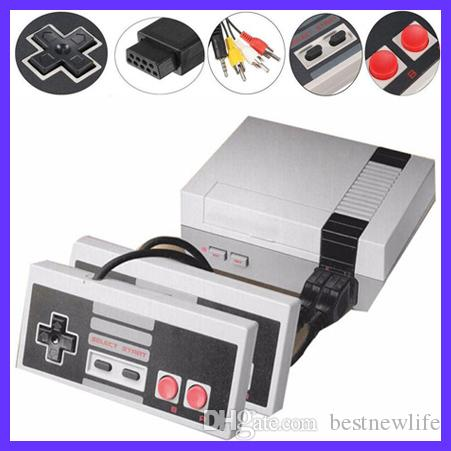 New Arrival Mini TV Video Can Store 620 and 500 Game Console Handheld for NES games with retail boxs hot sale free shipping