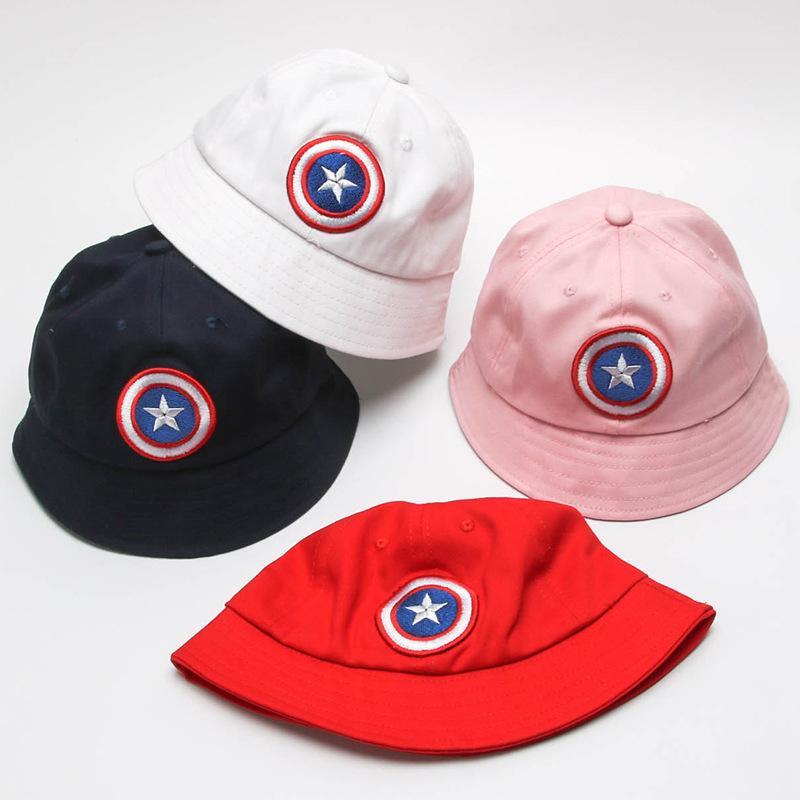 Acquista Cappello Hip Hop Bambini Captain America Pieghevole Cappello Da  Pescatore Bambini A  38.07 Dal Sweetdream1  1eb15fa7c473