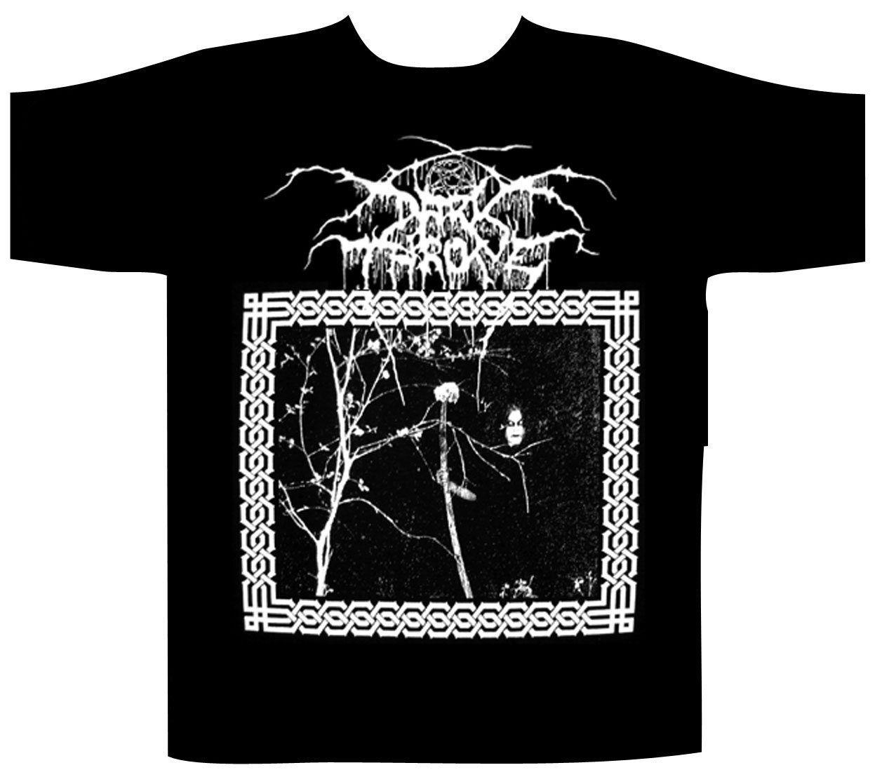 Darkthrone - Under A Funeral Moon T-SHIRT M Immortal Ulver Enslaved Satyricon