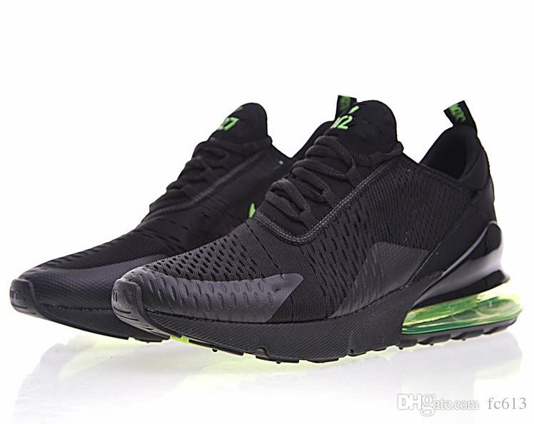 8ba4334d1d82e Hot Sale French Champion 2 Star 270 Wholesale Mens Air Flair Triple Black  AH8050 Trainer Sports Running Maxes Shoes Womens Air Sole Sneakers Cool  Shoes Naot ...