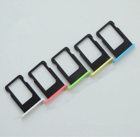 Micro Nano SIM Card Holder Tray Slot for iphone 5c Replacement Part SIM Card Card Holder Adapter Socket Apple