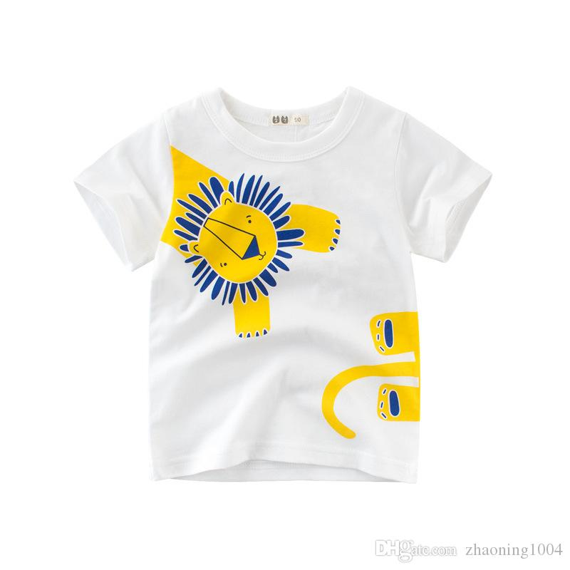 Designer Fashion Kids Clothing Children T shirt Baby Boy Girl Clothes For Summer Infant Clothing Toddler Kid Big Boy Girl Clothes
