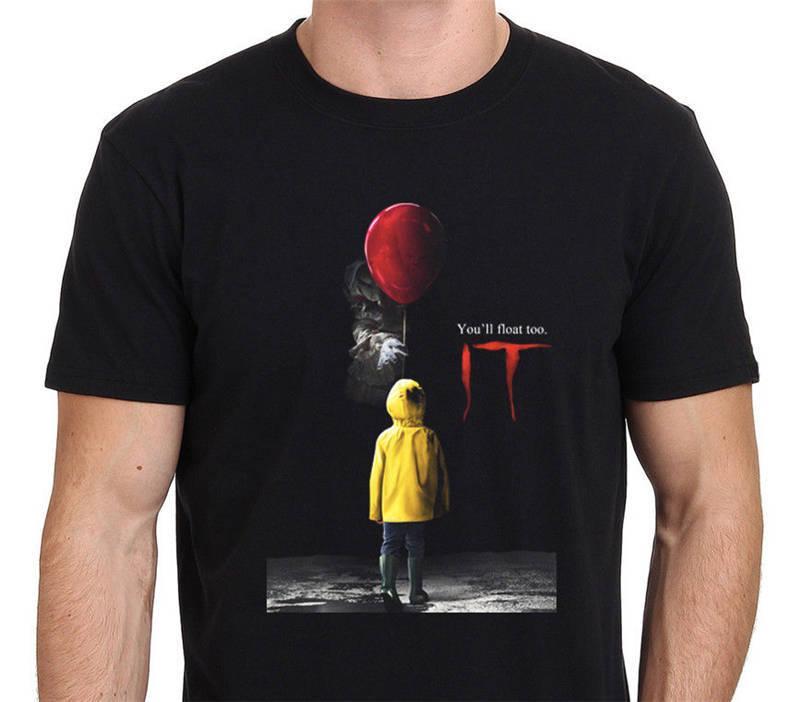 T-shirts Men's Clothing Useful Im Loving It Funny Pennywise Clown 2019 T-shirt Men Funny O Neck Short Sleeve Cotton T-shirt New Fashion Print Free Shipping