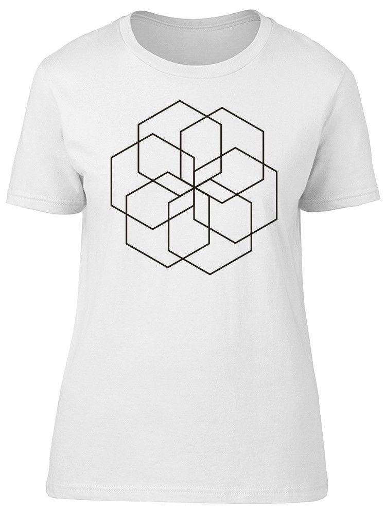 77e58fd73c Six Hexagrams Art Women'S Tee Image By Shutterstock Cool Funny Shirts One  Day Shirts From Lanshiren7, $12.02| DHgate.Com