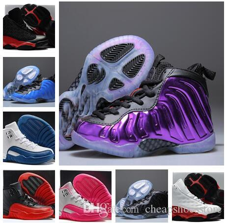 10204d8557b9 Cheap Kids Penny Hardaway Galaxy One 1 Children Tennis Basketball Shoes  Olympic Running Shoes Sneakers Olympic Training Sports Shoes Basketball  Shoes For ...