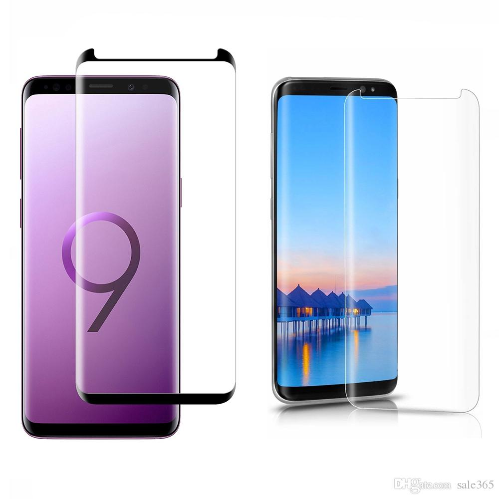 3D Case Friendly Tempered Glass Screen Protector For Samsung Galaxy Note 9  8 S9 Plus S8 9H 0 26mm Glass Screen Protector