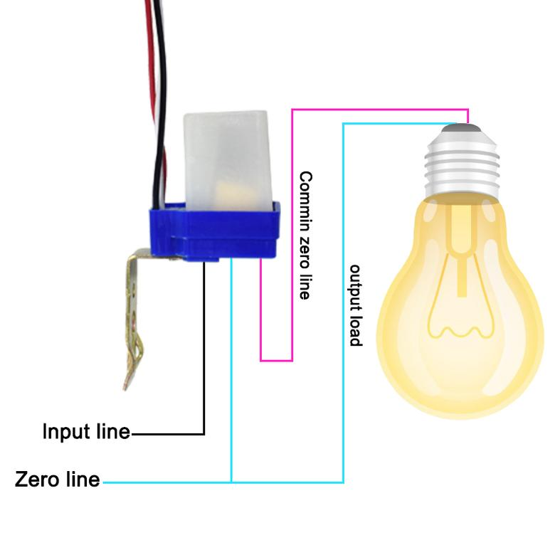220 volt photocell wiring diagram 2019 switch automatic auto on off    photocell    street light  2019 switch automatic auto on off    photocell    street light