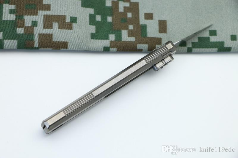 Distrito DICORIA 9 Cortador de Papel Original Cuttin faca Titanium Handle Olfa lâmina de aço inoxidável Poda facas de acampamento ao ar livre