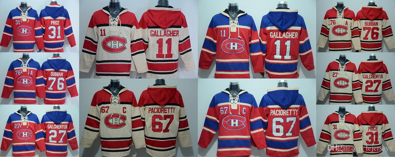 ce749a8f5 Montreal Canadiens 76 P.K. Subban 67 Max Pacioretty 31 Carey Price 11  Brendan Gallagher 27 Alex Galchenyuk Hockey Jerseys UK 2019 From Lejerseys