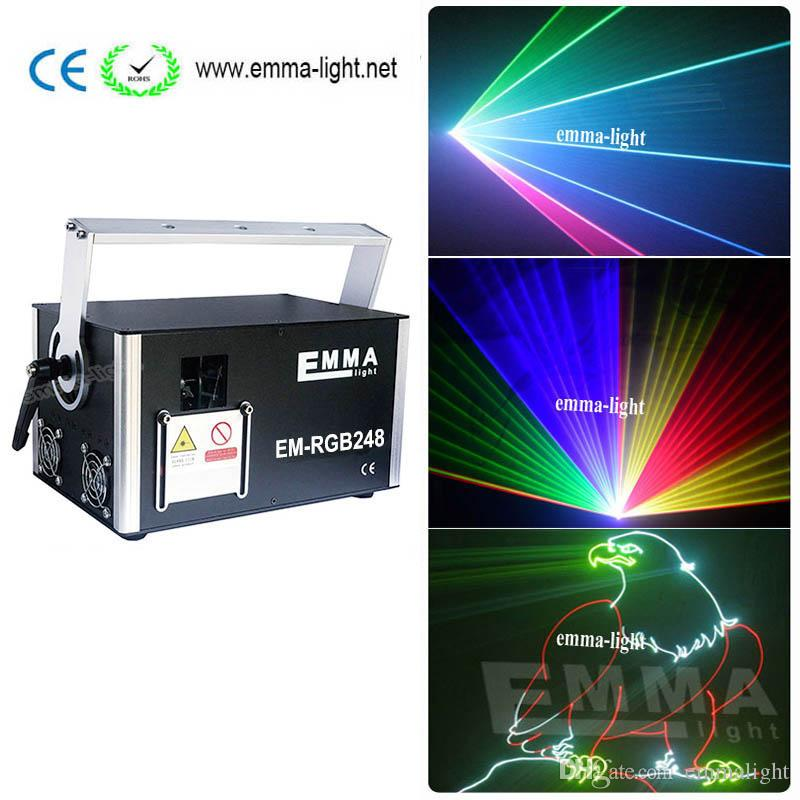 Hight Speed Galvo Scanner RGB analog full color Laser Light System Show DMX  ILDA Free Shipping