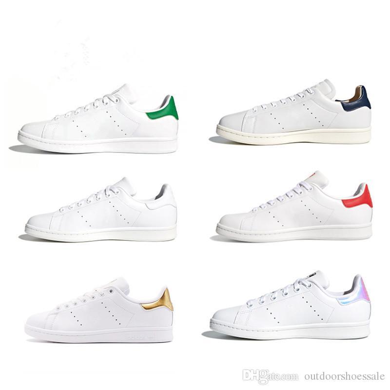online store 8b4b6 9ee55 2019 Zapatos Stan Moda Smith Marca De Calidad Superior Para Mujer Para  Mujer Nuevo De Cuero Informal Zapatillas Deportivas Zapatillas De Correr  Tamaño Eur ...