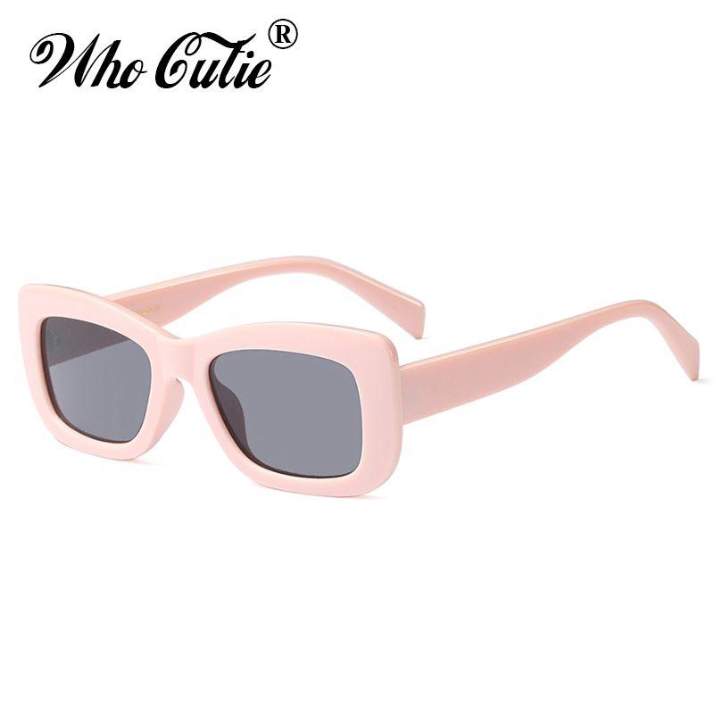 3d800a22036 2018 Oversized Square Sunglasses Women Men Retro Brand Designer Vintage  Thick Rectangular Frame Girl Sun Glasses OM573 Womens Sunglasses Sunglasses  Sale ...