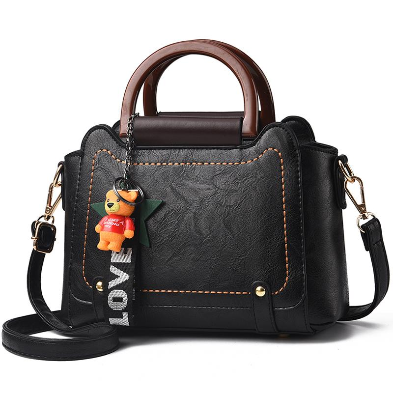 0cb8b71b29e8 2018 Handbags Famous Brand Women S Fashion New Female Toy Bear Shoulder Bags  Ladies Simple Totes Women S Messenger Bag For Girls Backpack Purse Bags For  Men ...
