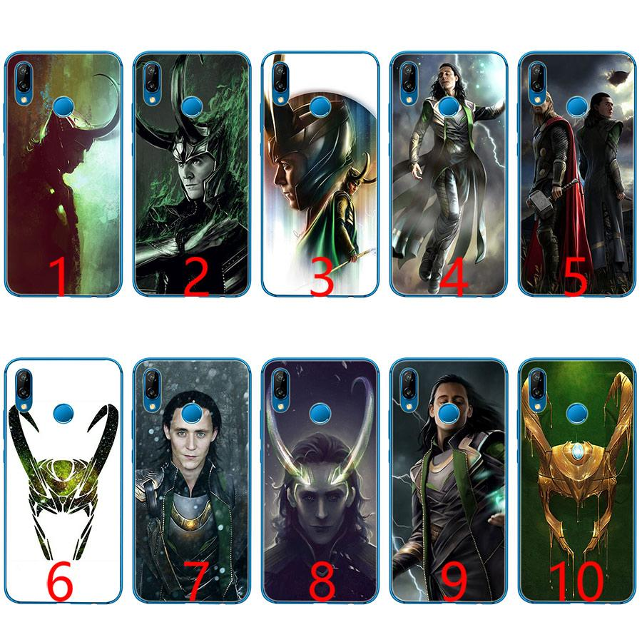 reputable site d13be 8558c Loki Thor Soft Silicone TPU Phone Case for Huawei Honor 7A Pro 6A 7X 8 Lite  9 Lite 10 Cover