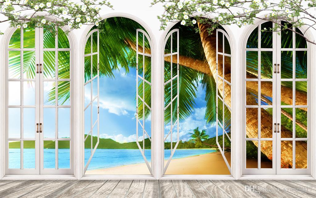 Neve colonna romana Moderna finestra a strisce 3D tende tende oscuranti soggiorno 3D tende
