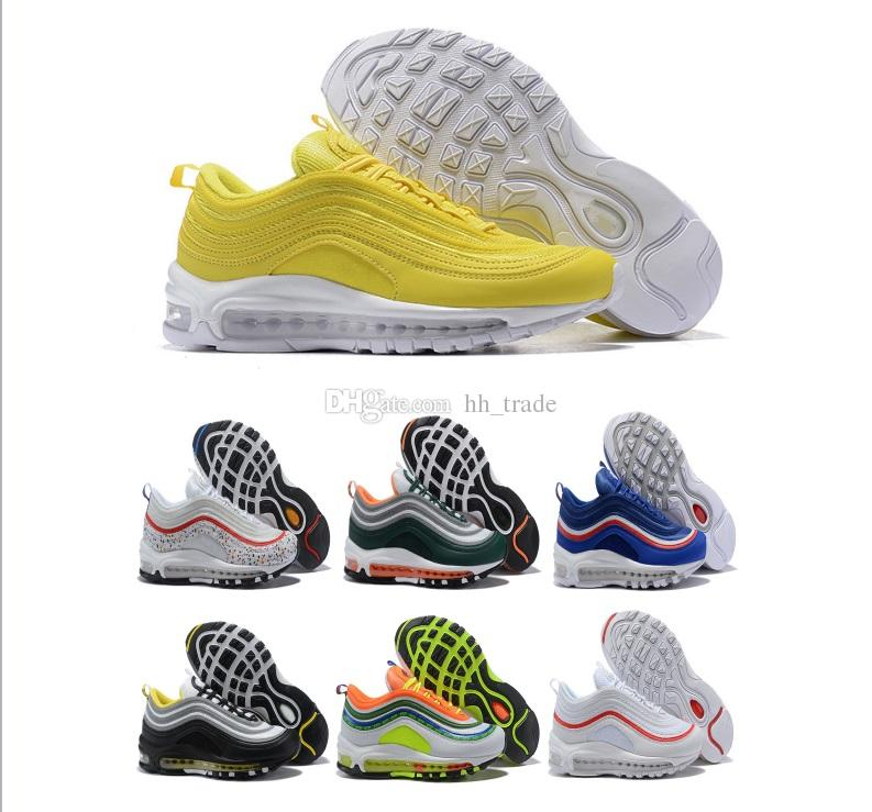 2018 New Arrival 97 OG Running Shoes for Men South Beach Gym Yellow ... ac9df2e88
