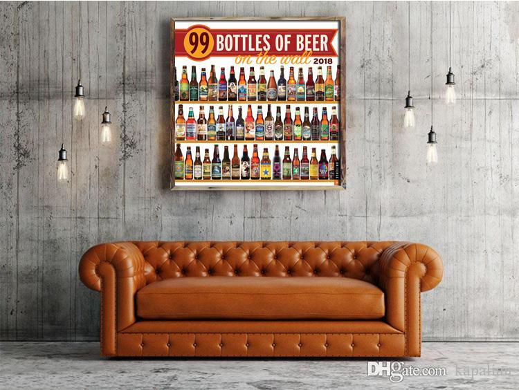 2019 99 Bottles Of Beer High Quality Art Posters Print Photo Paper 12 24 35 47 Inches From Kapalian 964