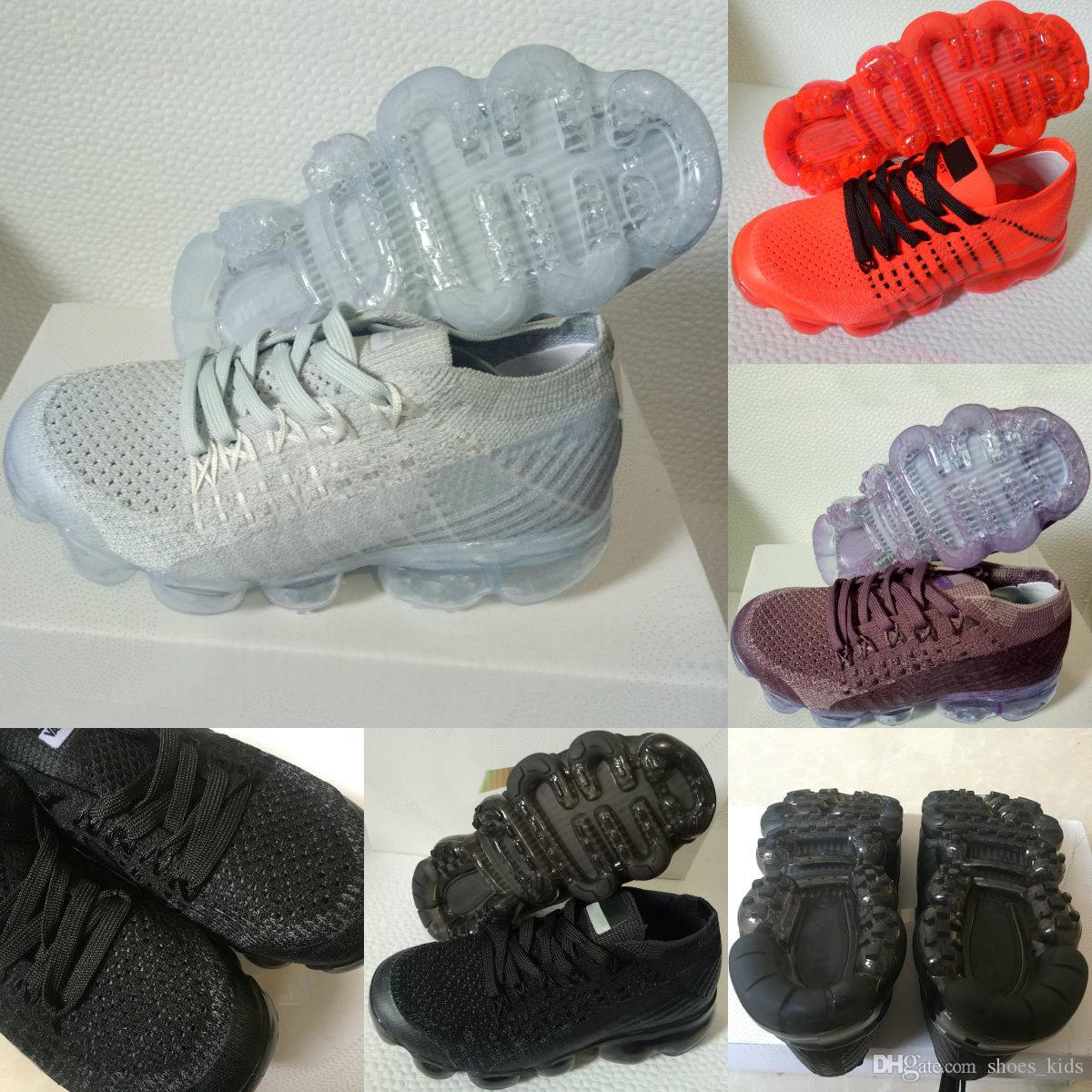 089a1fb3cbe4 Zoom Air 2018 VM Running Shoes Children Athletic Shoes Boys Girls ...