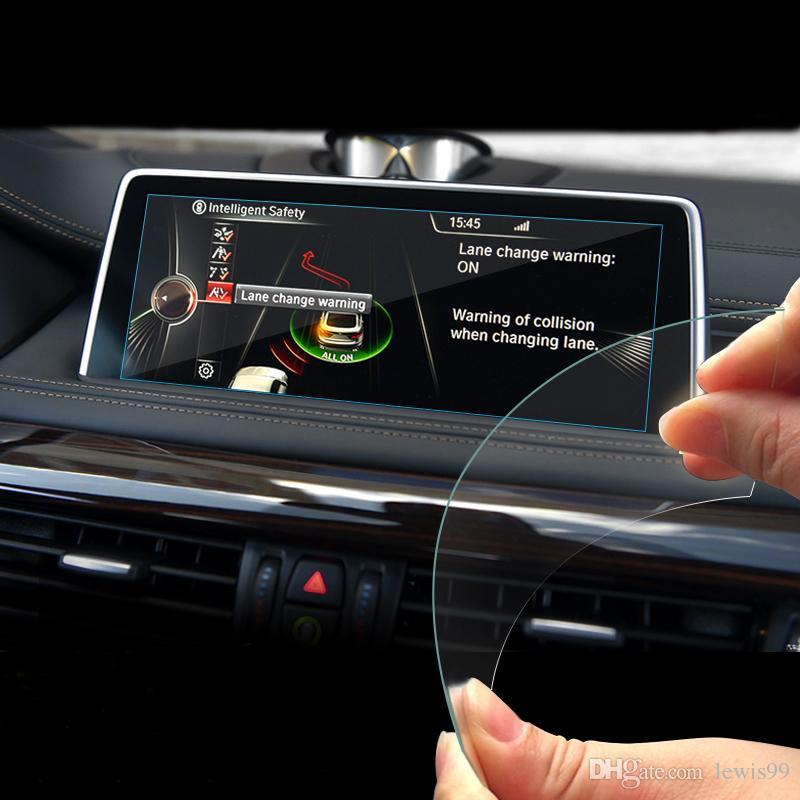 Consola interna del coche Navegación GPS NBT Protección de pantalla Panel de ajuste Cubierta Pegatinas Accesorios Para BMW 1 2 3 4 5 6 7 Serie X1 X3 X4 X5 X6