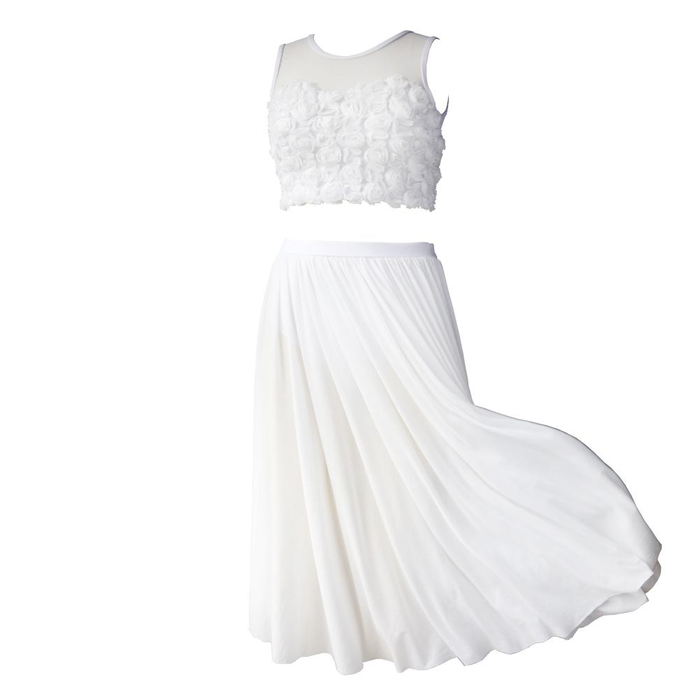 01bb0adf9 2019 NT17064 Women White Ballet Dnace Dresses