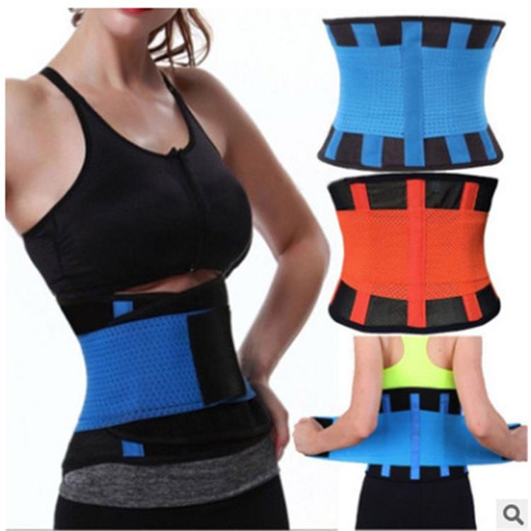 f7a6f0d558 2018 Hot Waist Trainer Cincher Control Shaper Corset Shapewear Body Tummy  Sport Fitness Waist Cincher Best Waist Trimmer Slimming Belt Weight Loss  Slimming ...