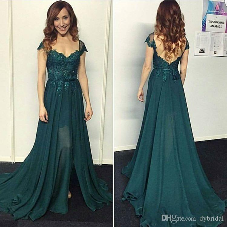 2018 sexy cheap plus size mother of the bride dresses vestidos de fiesta formal evening gowns green prom dress