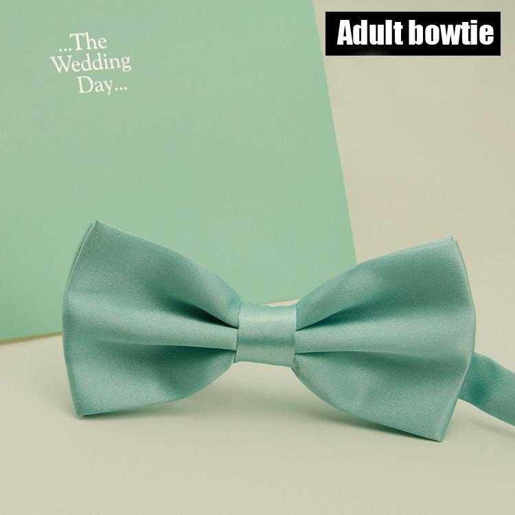 a12ac9c98477 2019 Fashion Mint Green Bowtie Men Wedding Party Solid Color Ties From  Value333, $20.51 | DHgate.Com