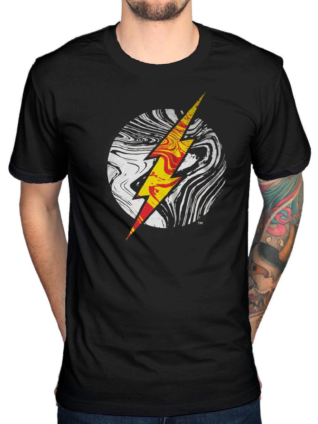 Official The Flash Molten Logo T-Shirt Enter Flashtime Lose Yourself Oggetto 9
