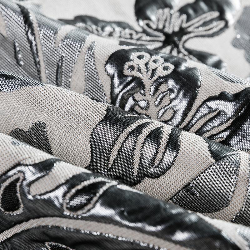 Moda Mens Impresso Patty Casacos Blazer Branco 2018 Nova Chegada Roupas de Marca Masculino Slim Fit Estágio Flor Desgaste do Revestimento do Revestimento