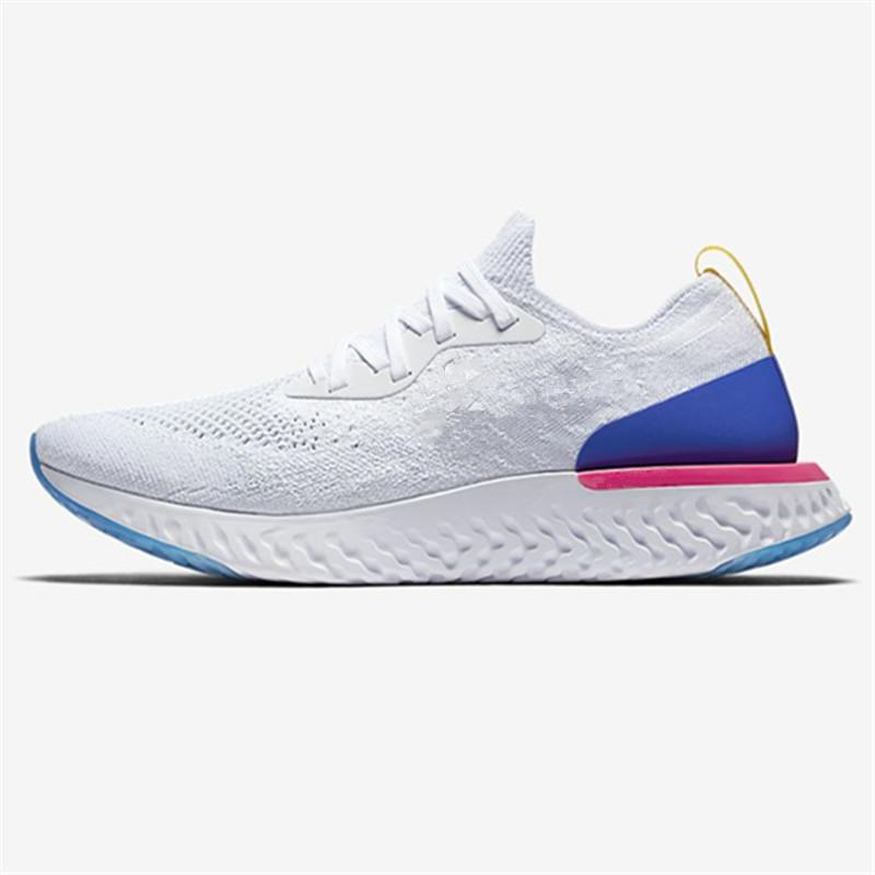 cheap sale fashion Style New Epic React Womens Mens Running Shoes Instant Go Fly Breath Comfortable Sport Boost Size 5.5-11 For Sale Men Women Athletic Sneakers&Box buy cheap shop for d6CEze