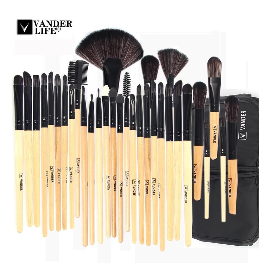 82e0bf9eabfa Stock Clearance !!! 32Pcs Makeup Brushes Professional Cosmetic Make Up  Brush Set The Best Quality Foundation Beauty Tool