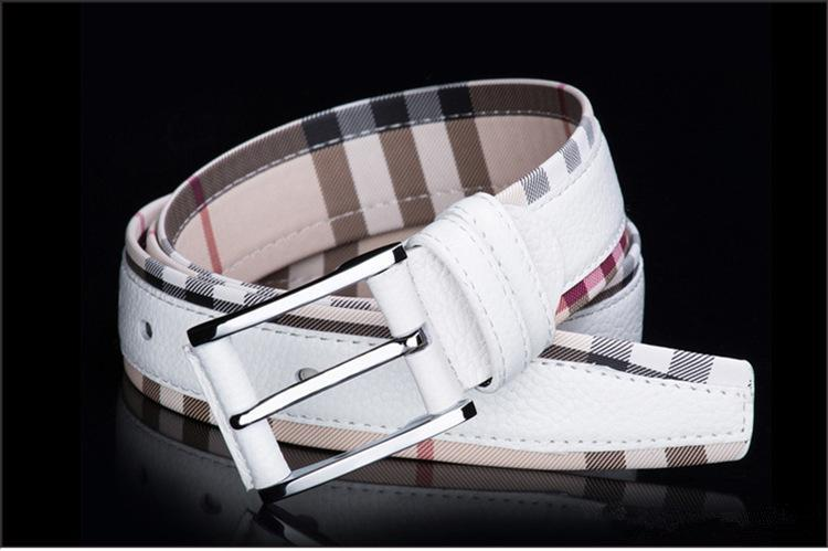 New Style Luxury Genuine Leather Belt for Men and Women Fashion Smooth/Pin Buckle Plaid Belt Designer Belt High Quality Cowhide Jeans Girdle