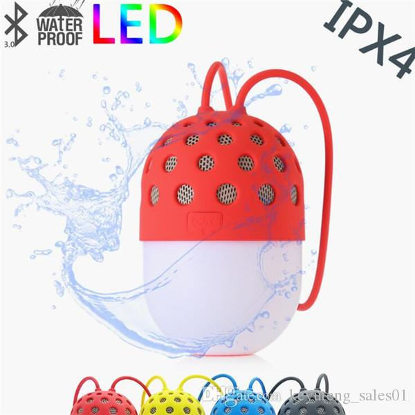9264fc5e0c 400mAh IPX4 Waterproof LED 3W Bluetooth Speaker V3.0 Cute Firefly Design  For Outdoor Mobile Shake Control LED Light Color Bluetooth Speaker Outdoor  Speaker ...