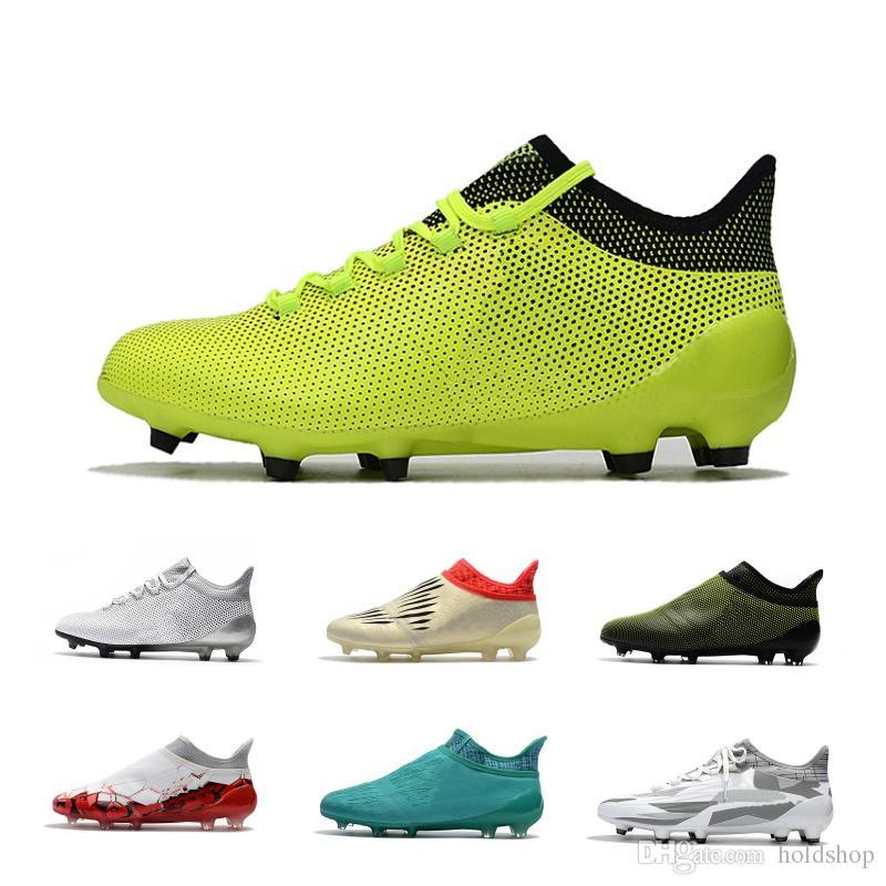 Venta Al Por Mayor X 17.1 FG Tamaño Champagne 2019 Zapatos De Fútbol Ace  17.1 Mens Fútbol Botas Blanco Oro Azul Fútbol Zapatos Por Holdshop ee4606bf07409