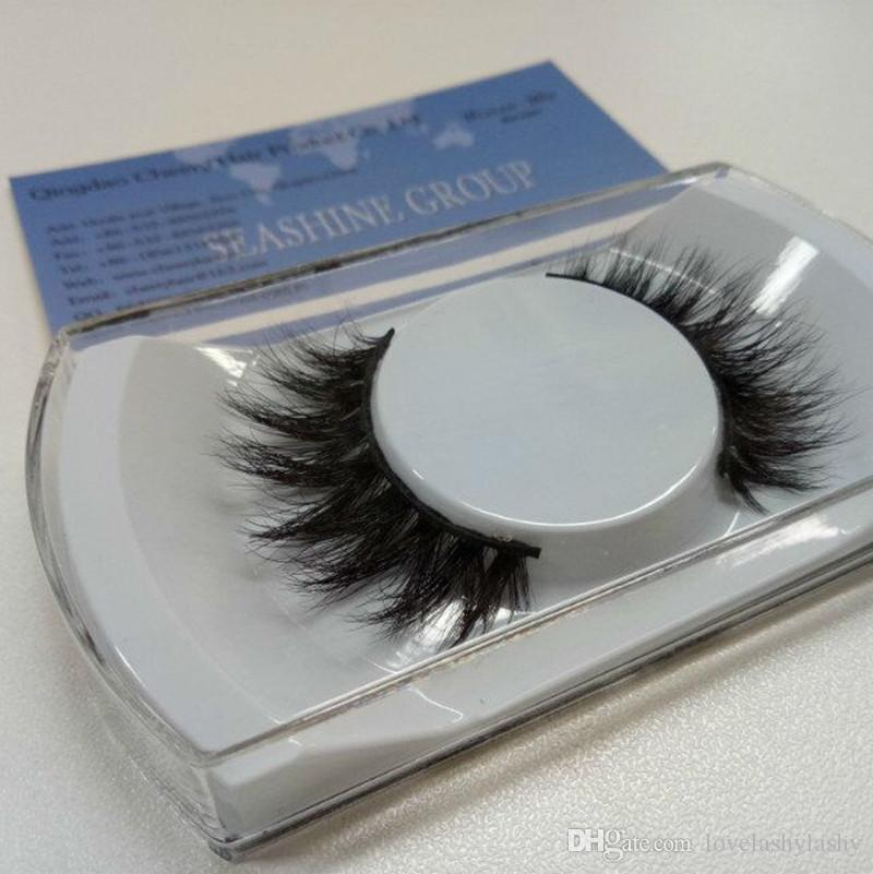 a02cdcc8d6f Seashine Hot 3D Mink Hair 3D Mink Eyelashes Hair Fur Eyelashes Messy ...
