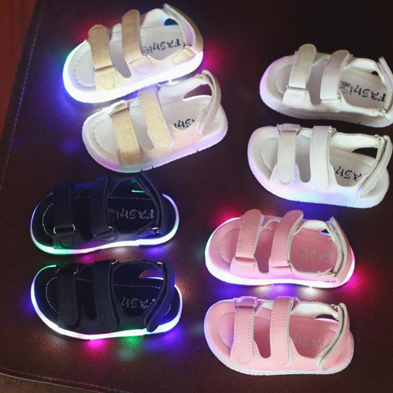 0f3eb807efe36 Summer Children s Sandals Boys And Girls Open Toe Marquee Beach ...