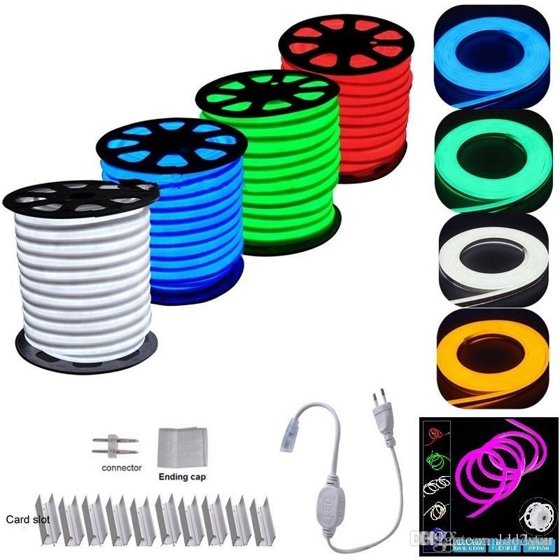 Led strip neon flexible rope light waterproof ip68 mini led tape led strip neon flexible rope light waterproof ip68 mini led tape 220v 110v flexible ribbon for outdoor lighting with power plug warm white led strip led aloadofball Images